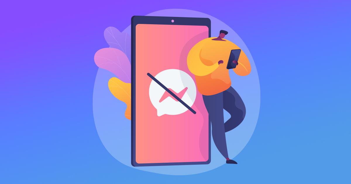 Как да изпратите съобщение на някой, който ви е блокирал във Фейсбук
